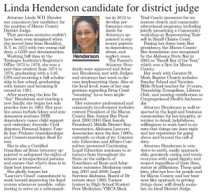 Linda_Henderson_Tusk._News_2-6-14_article